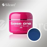 SILCARE BASE ONE GEL UV COLOR 28 PACIFIC BLUE