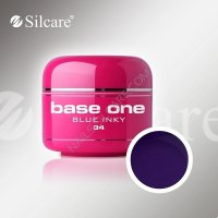 SILCARE BASE ONE GEL UV COLOR 34 BLUE INKY