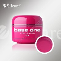 SILCARE BASE ONE GEL UV COLOR 18 LOLLI POP