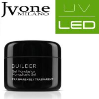 JVONE MILANO UV/LED SYSTEM GEL MONOFASICO CLEAR 30 ML