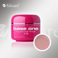 SILCARE BASE ONE GEL UV COLOR 11-A FLAMING PINK