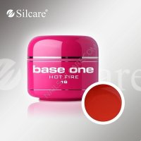 SILCARE BASE ONE GEL UV COLOR 16 HOT FIRE